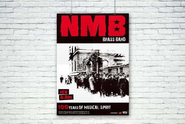 Création graphique affiche nmb
