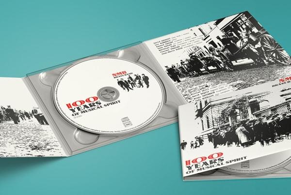 Création graphique pochette cd nmb