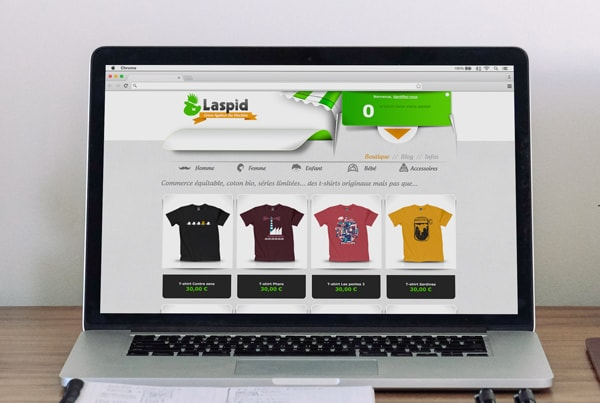 webdesign site Laspid